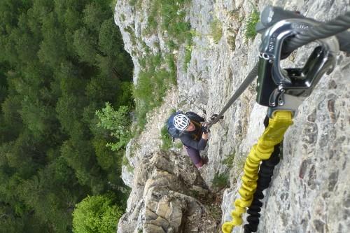 Klettersteig Türkensturz : Klettersteige leopold und heinrich klettersteig km bergwelten